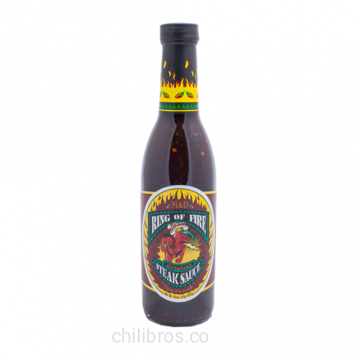 M&D Ring of Fire Original Steak Sauce