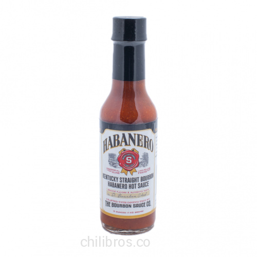 Kentucky Straight Bourbon Habanero Hot Sauce