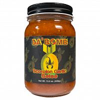 Da Bomb Scorpion Garlic Salsa