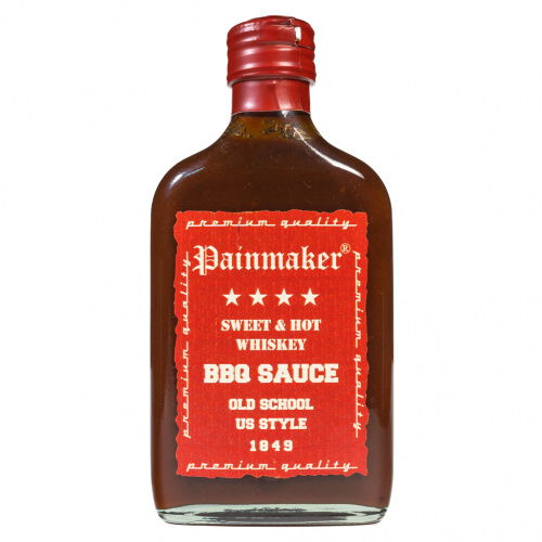 Painmaker Sweet & Hot Whiskey BBQ Sauce