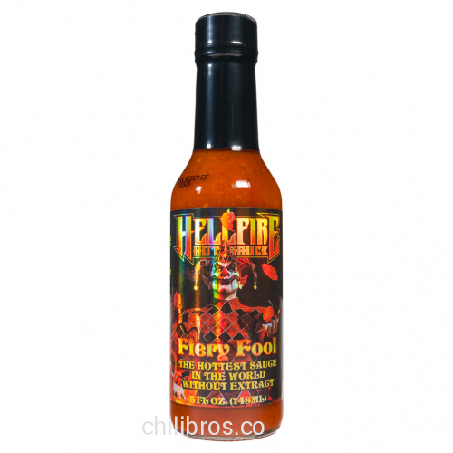 Hellfire Fiery Fool Hot Sauce