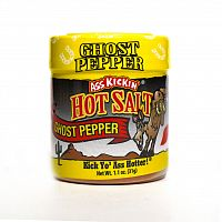 Ass Kickin' Hot Salt Ghost Pepper