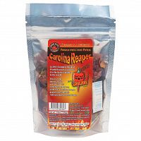 Dried Carolina Reaper Pepper Pods