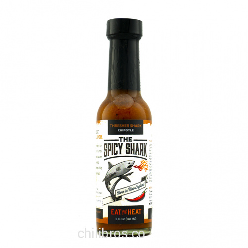 The Spicy Shark Thresher Shark Chipotle Hot Sauce