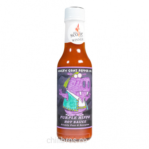 Angry Goat Pepper Co. Purple Hippo