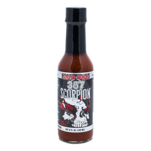 Mad Dog 357 Scorpion Hot Sauce 100,000 SHU