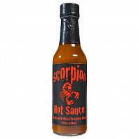 Scorpion Hot Sauce w/Real Scorpion Meat