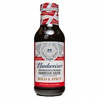 Budweiser Brewmaster's Premium Barbecue Sauce BOLD and SPICY