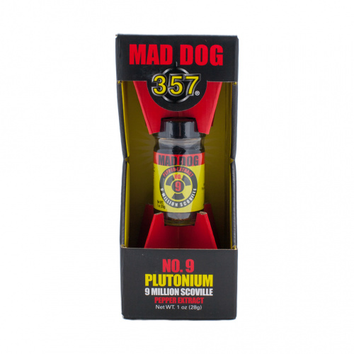 Mad Dog 357 Plutonium 9 Million Scoville Pepper Extract 9,000,000 SHU