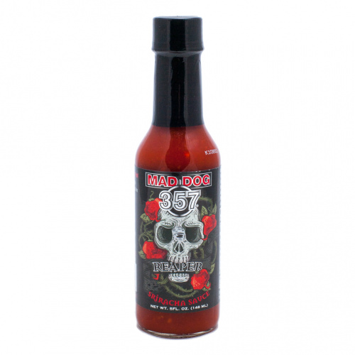 Mad Dog 357 Reaper Sriracha Hot Sauce 100,000 SHU